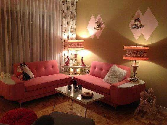 Vintage möbel weiss rosa  Pin von Sarah Vega auf Retro Lifestyle | Pinterest | Traumwohnung