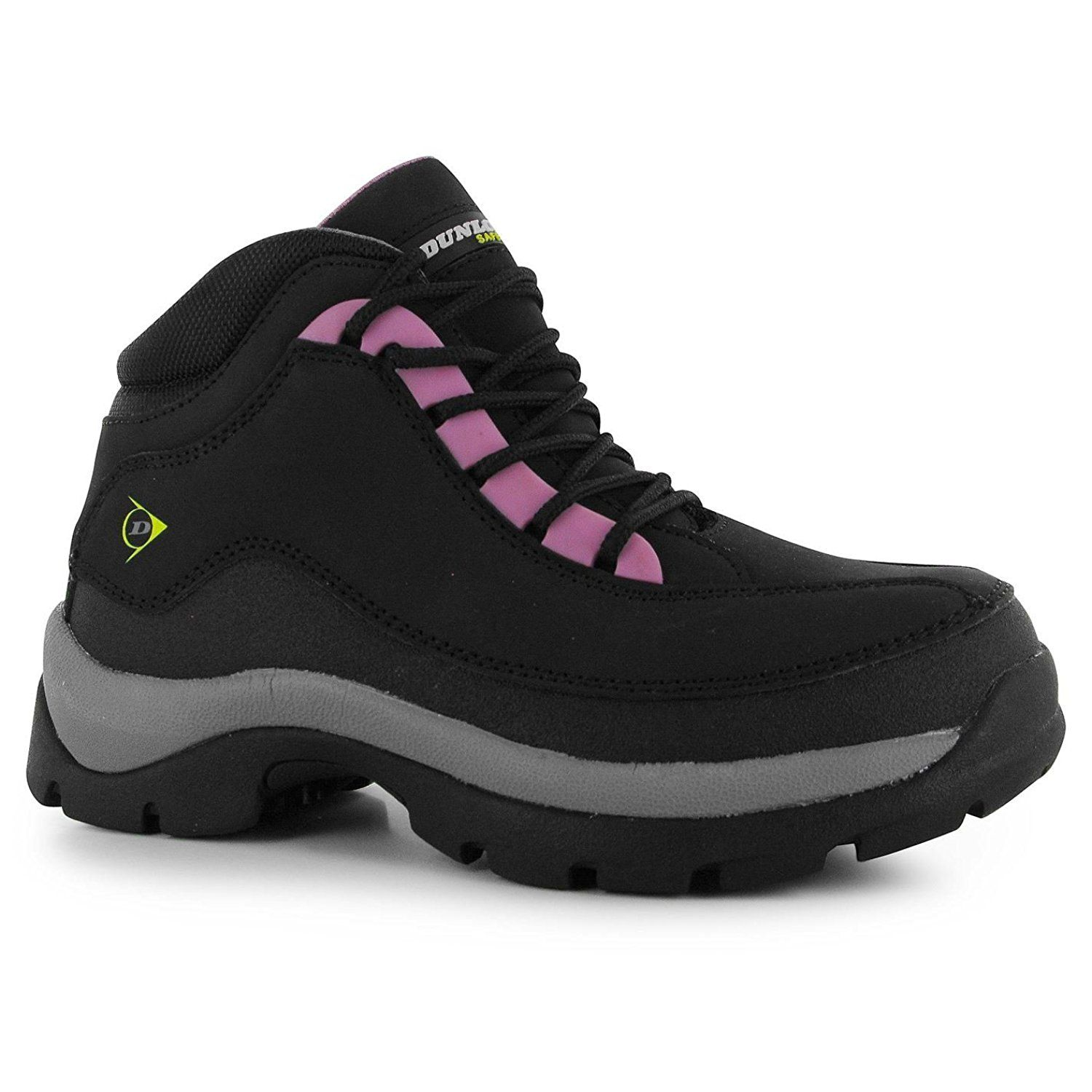 6a81f9510f7 Dunlop Womens Safe Hike Ladies Safety Boots Ladies Lace Up High Cut ...