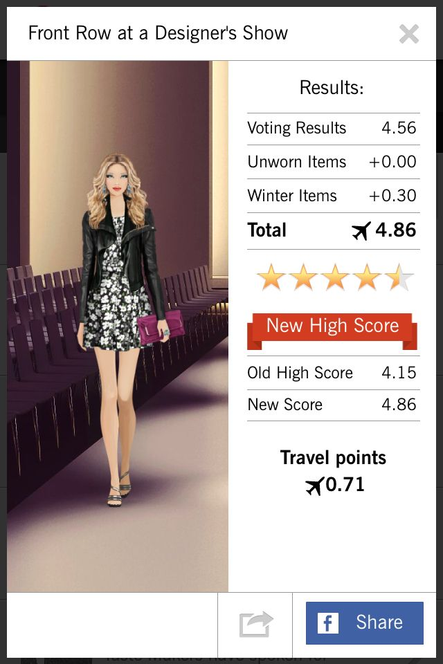 Front Row At A Designer S Show Covet Fashion 4 56 3 Bonus Covet Fashion Moda Fashion Fashion Games