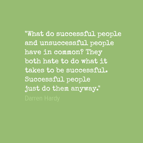 what to do to be successful