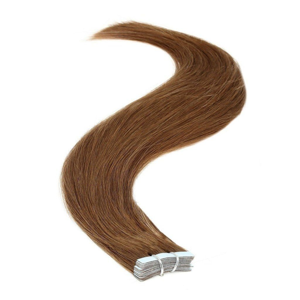 Tape in Hair Extensions inch ps g Chocolate Brown