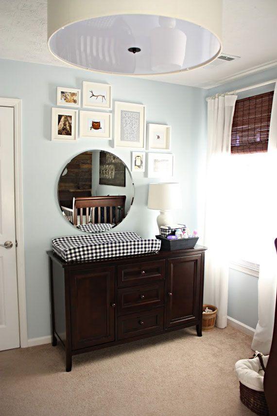 Decorar la habitación del bebé con Espejos | Ambientes infantiles ...