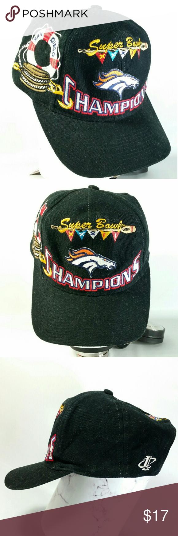 VTG NFL Denver Broncos Snapback Superbowl XXXII Nfl