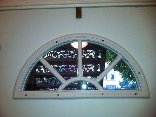 Ideas For Covering Window In Door