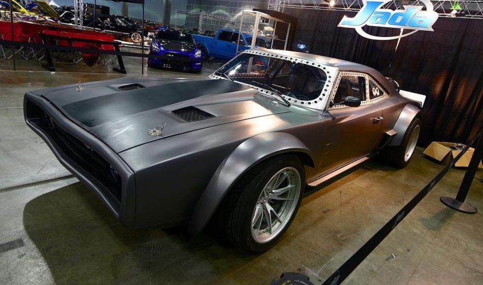 Dodge Ice Charger for Fast 8, new modified muscle car powered by an ...