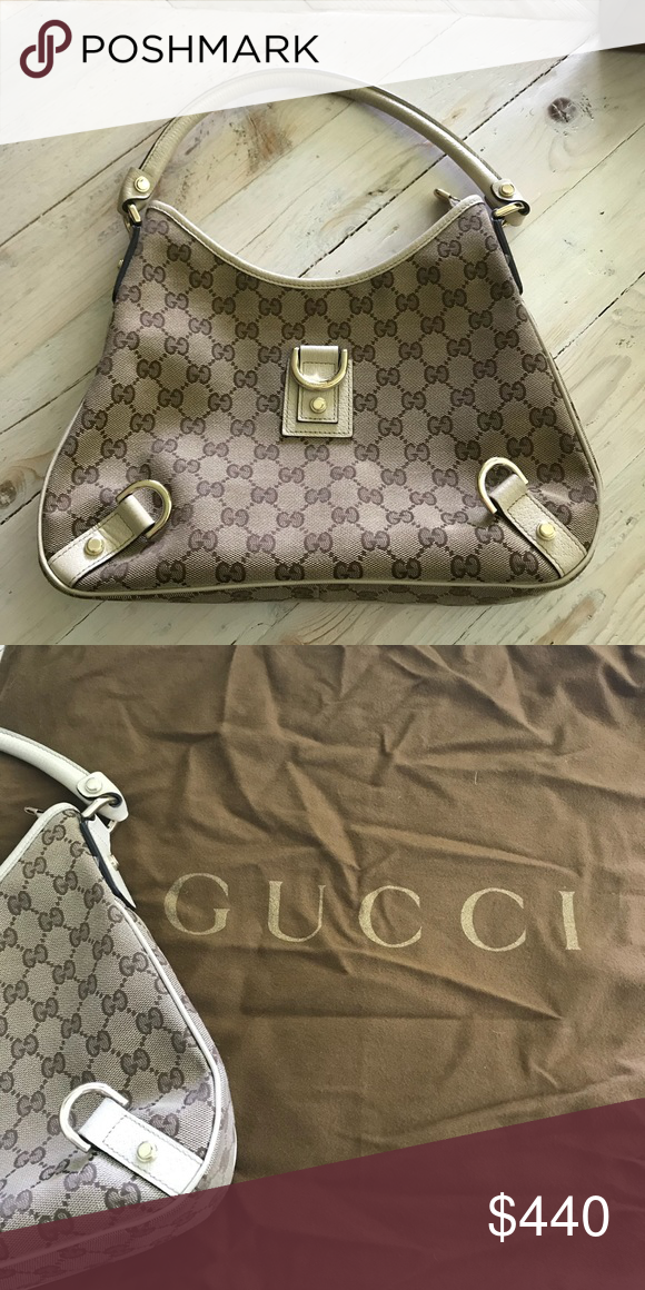 9320a5dd6cd7 Gucci Monogram Small Shoulder Bag Approx 8x11 inches. Genuine Gucci dust  bag comes with purse. Gucci Bags Shoulder Bags