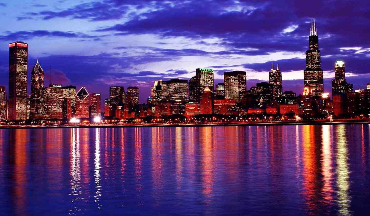 Chicago Skyline Wallpaper High Definition ZXe