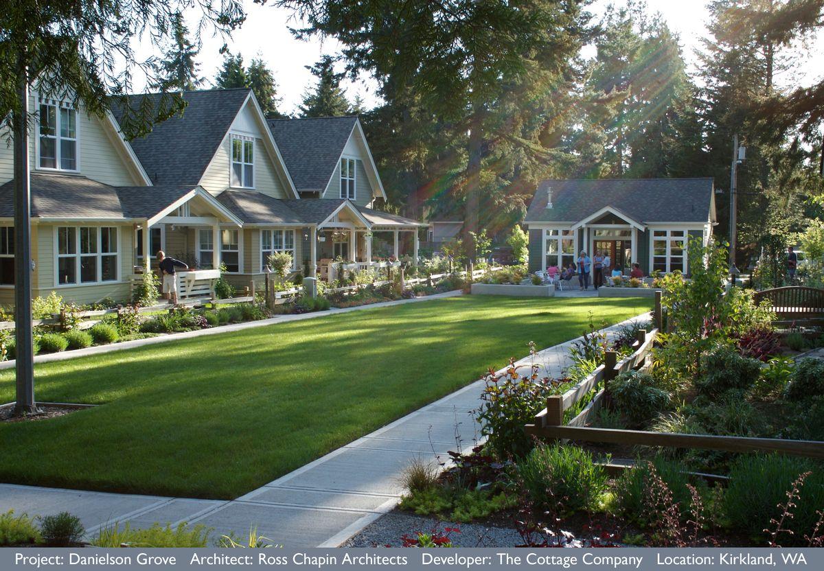 Would You Live In A Pocket Neighborhood Pocket Neighborhood Tiny House Village Tiny House Community
