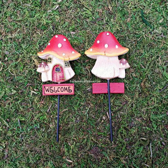 Gnome Garden: Miniature Mushroom Woodland
