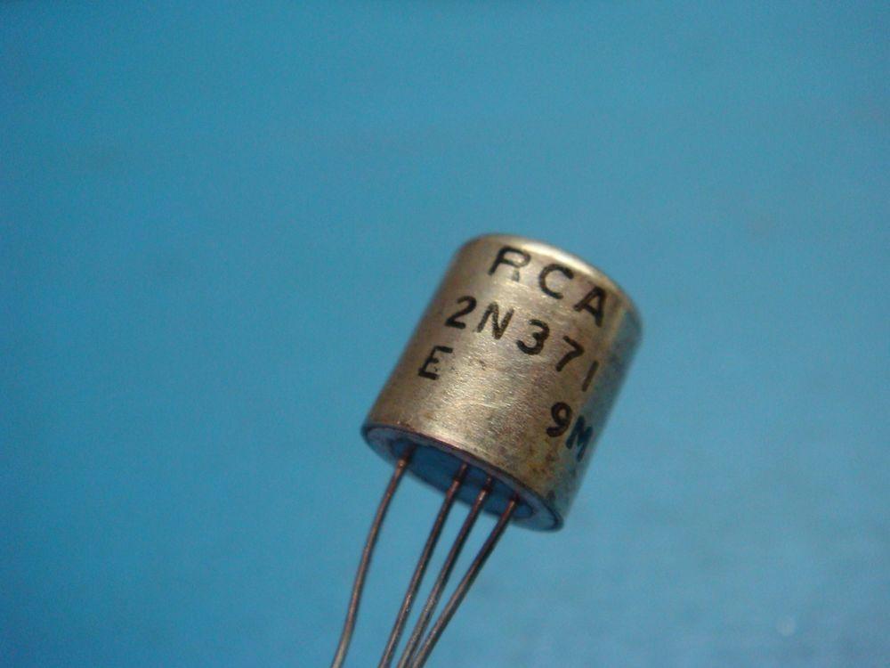 1 Rca 2n371 Pnp Germanium Transistor To 7 Vintage Radio Dolly Mw