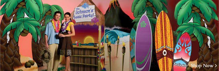 Diy Beach Party Decorations Ideas Luau Party Props Luau