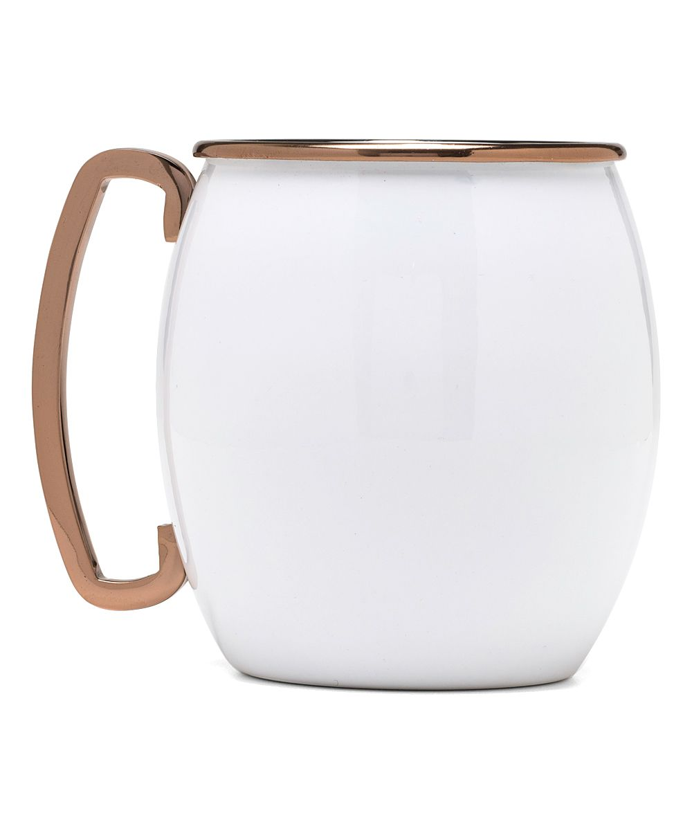60 Lifestyle Home Design Ideas Copper Madness: White Moscow Mule Mug