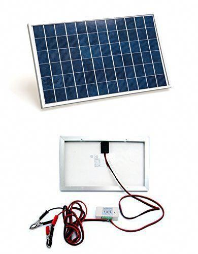 Eco Worthy 10w Pv Polycrystalline Solar Panel System Kit W 3a Charge Controller 30a Battery Clips Just 24 9 In 2020 Best Solar Panels Solar Panels Solar Technology