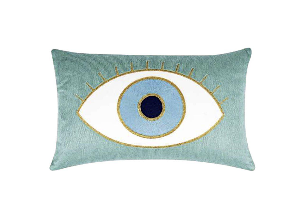maxi tendance la d co nous fait de l il coussins cushions decoration deco et rideaux. Black Bedroom Furniture Sets. Home Design Ideas