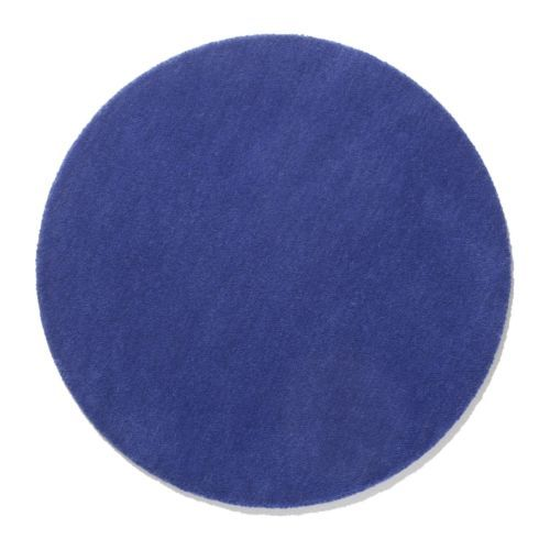 Ringum Rug Low Pile Bright Blue Ikea Also Available In Red Green White 9 99