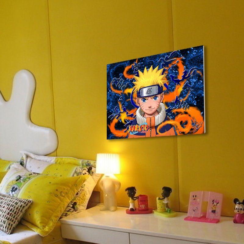 Anime Naruto Bedroom Decor Image