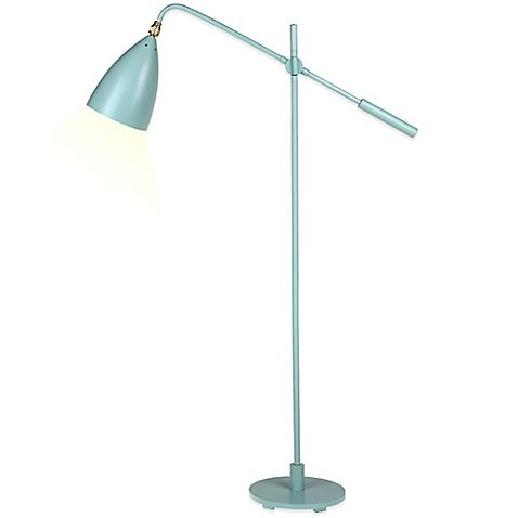Kenneth Cole Reaction Home Counterbalance Floor Lamp In Mint Bed Bath Beyond 49 99 Floor Lamp Lamp Stylish Table Lamps