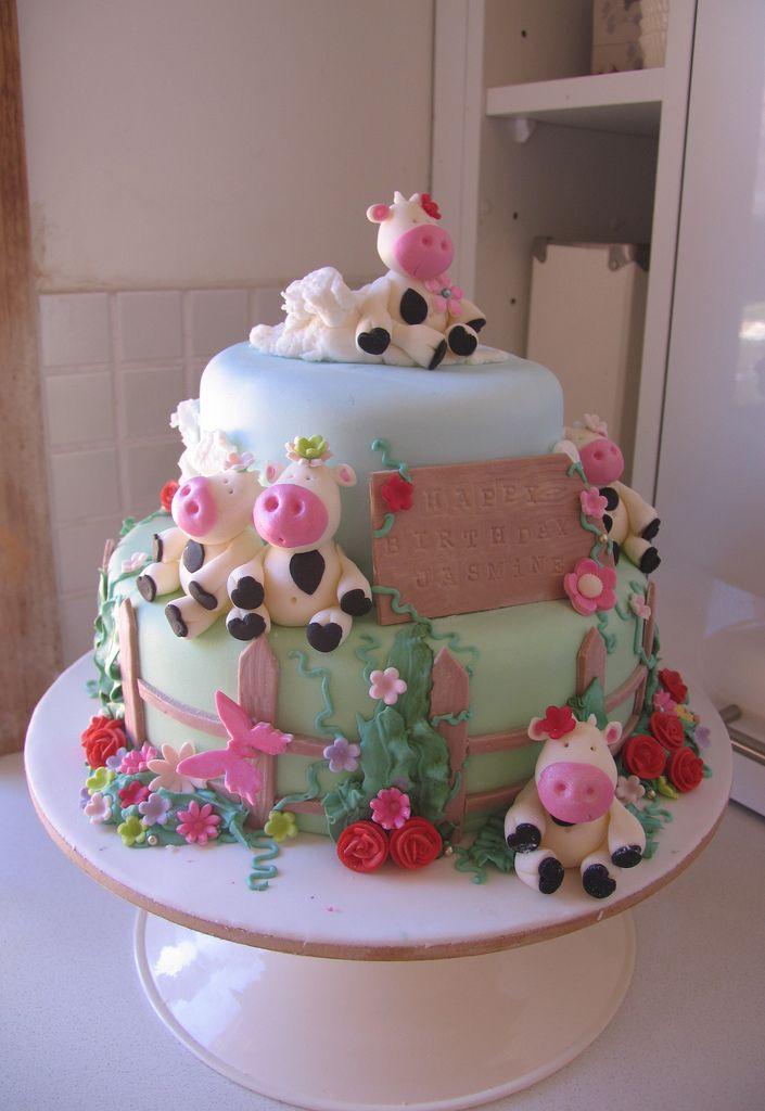 Farm Cake Cake Cow Cakes And Beautiful Cakes