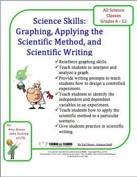 Science Skills Applying The Scientific Method And Scientific Writing By Science Stuff 3 00 Science Skills Scientific Writing Scientific Method