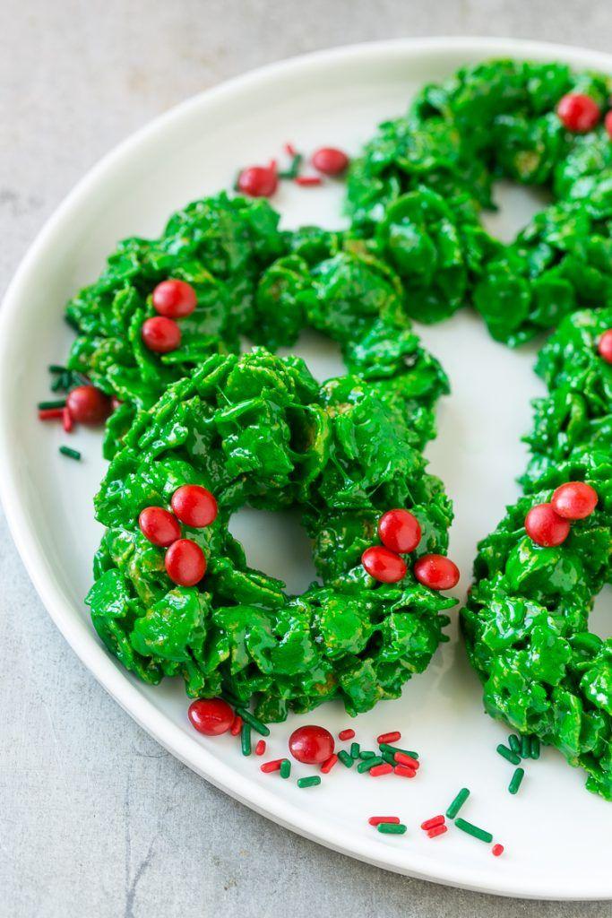 recipe: cornflake wreaths recipe [20]