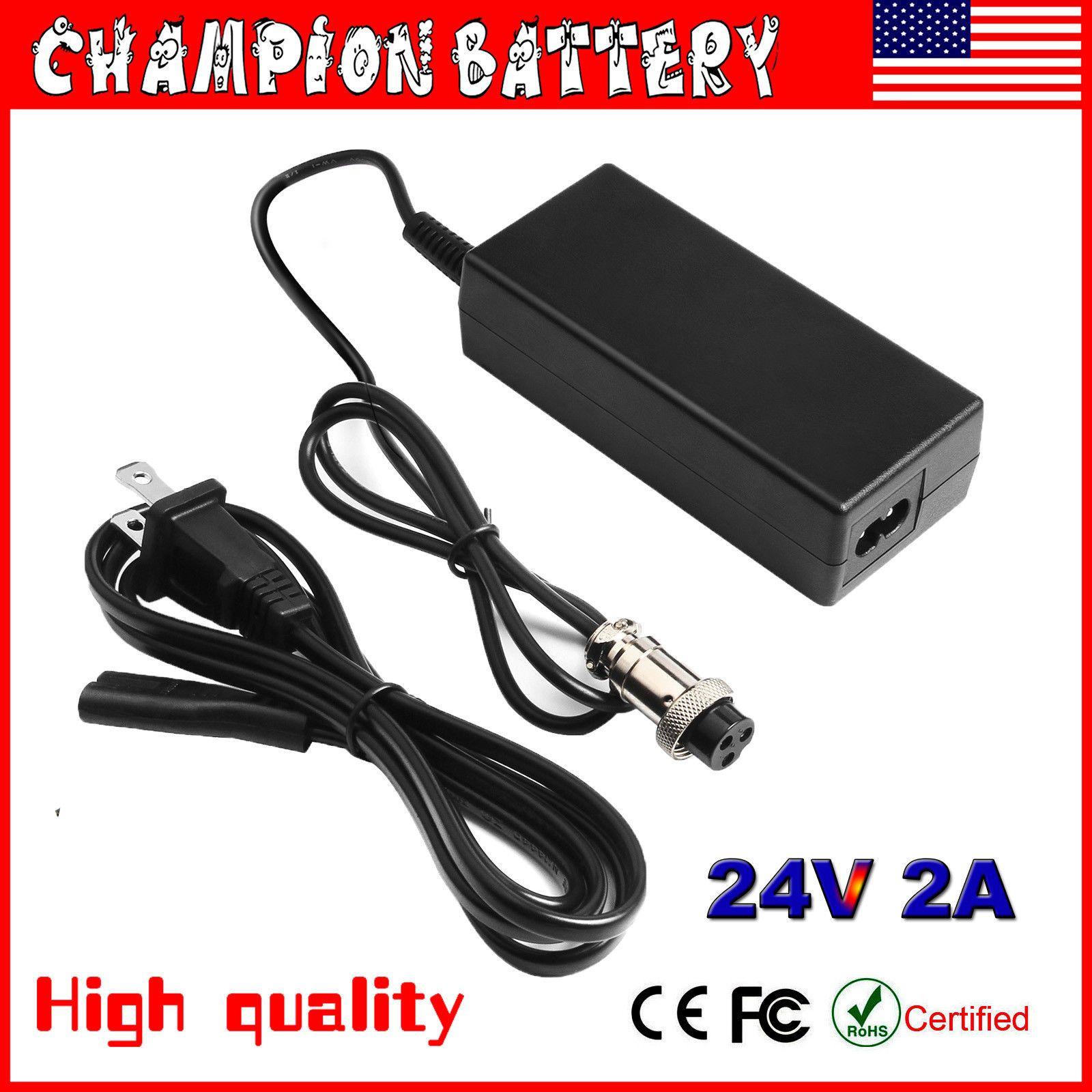 24v Battery Charger Razor E100 E200 E300 Espark Pocket Mod Sweet Pea Battery Charger Charger Battery