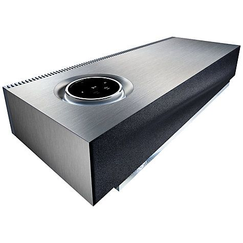Naim Audio Mu-so Wireless Bluetooth Music System with Apple AirPlay, Spotify Connect & TIDAL Compatibility #musicsystem