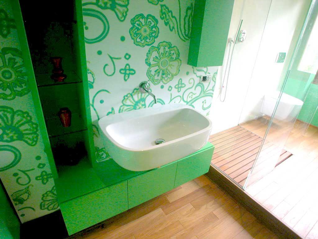 Microcemento bagno ~ Parete microcemento mobile rivestimento stampato impermeabile