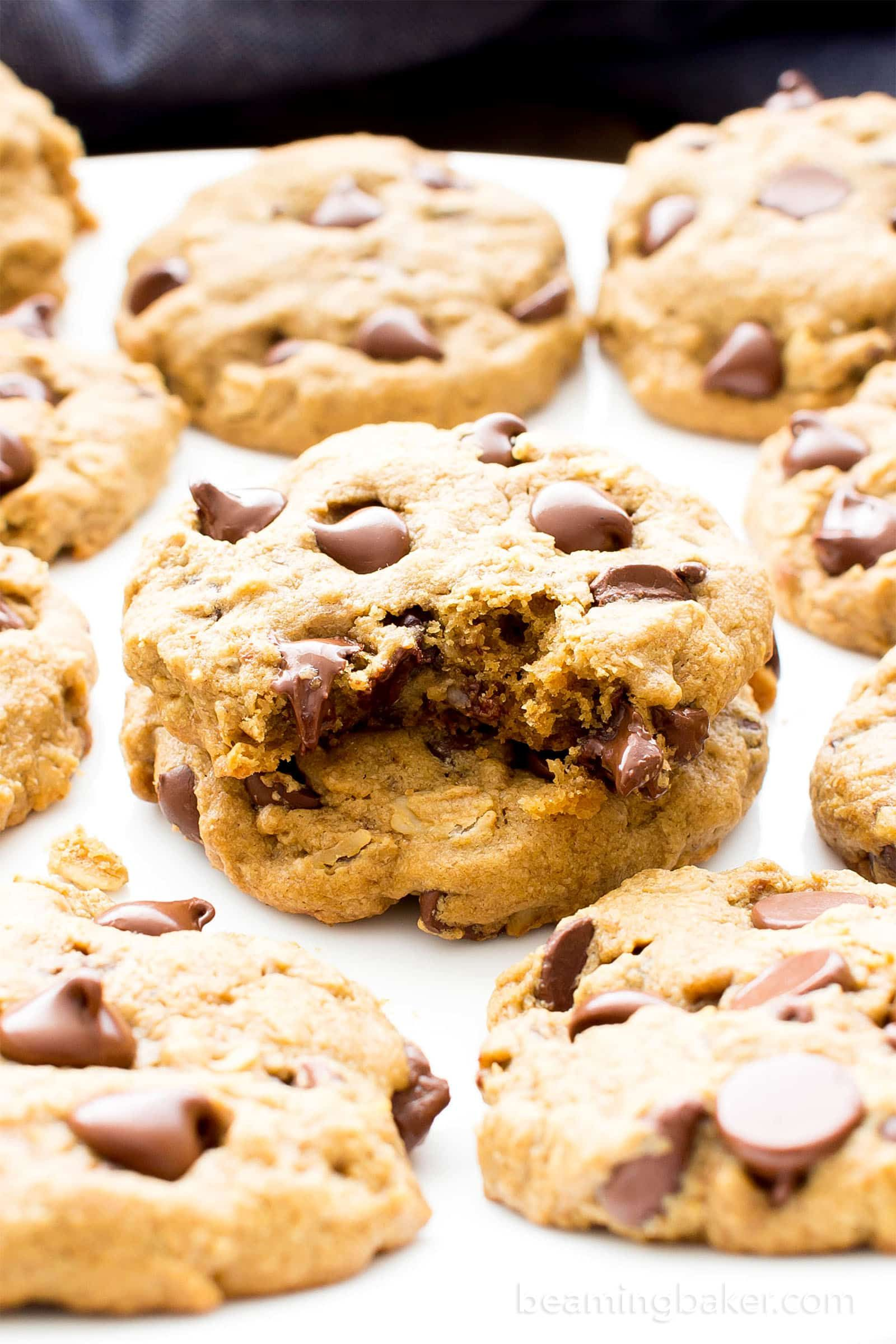 Triple Chocolate Peppermint Cookies V Gf Df Easy Decadent