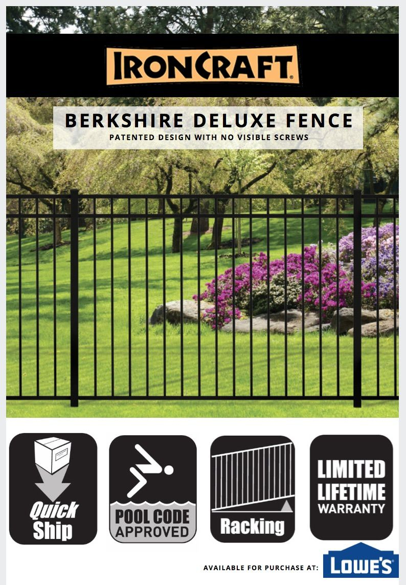 Looking For Backyard Fence Ideas The Berkshire Deluxe Aluminum