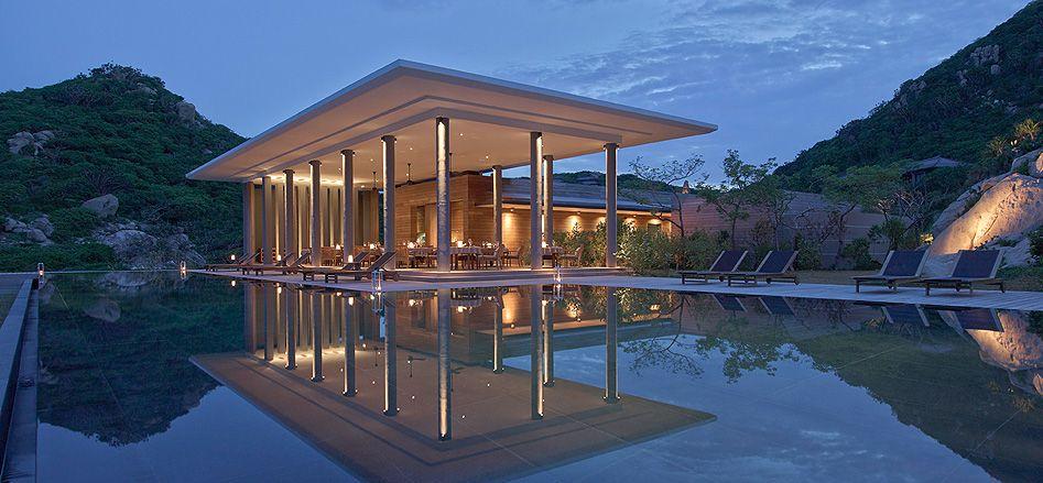Vietnam Luxury Resort White Sand Beach And Spa Amanoi An Aman