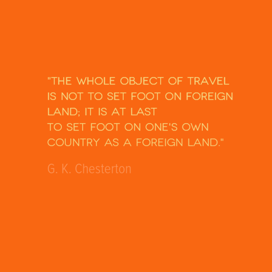 Quote Of The Week Travel Quote Foreign Land  Travel & Places  Pinterest