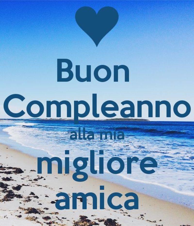 Immagini Frasi Buon Compleanno amica mia (1) | Buon