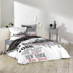 Housse De Couette 220 X 240 Cm Taies New York Building East Con Imagenes Detalles Para Mi Novia Novios