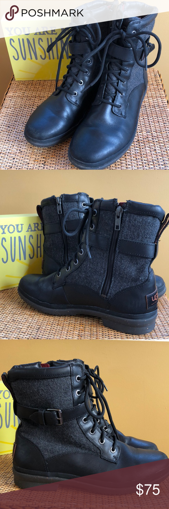 39b5b1700ee UGG COMBAT BOOTS SIZE 7 Kesey Waterproof Boot UGG COMBAT BOOTS SIZE ...