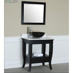 Gallery Website Xylem CAMINO Transitional Bath Vanity V CAMINO BK W