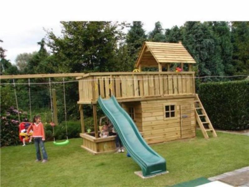 Spielgerat Kinderspielhaus Spielturm Schaukel Rutsche Spielhaus Spielturm Haus
