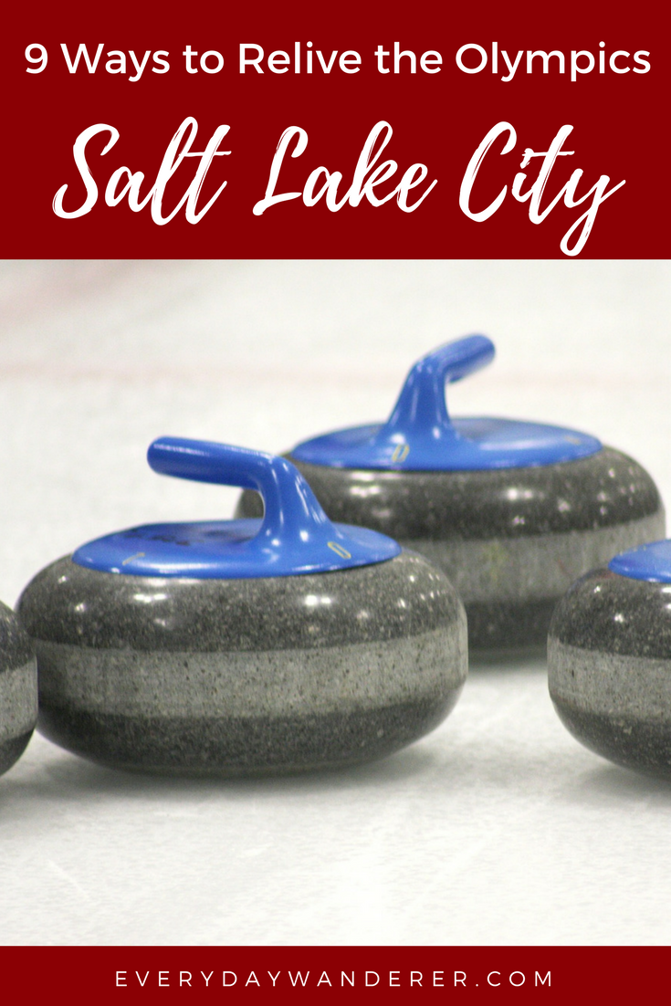 Learn to curl + 8 other ways to relive the Winter Olympics in Salt Lake City, Utah #utah #saltlake #curling #slc #saltlakecity #visitSLC