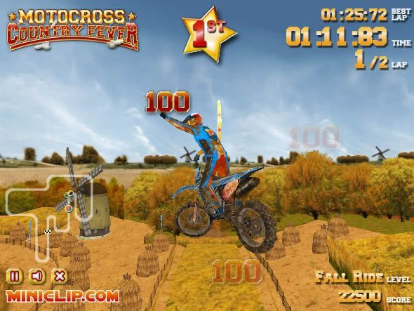 Motocross Country Fever Free To Play Mobile Game Mobile Game