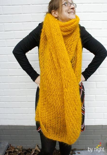 d179486f01b2 Une écharpe grande comme une couverture   Mousse   Echarpe, Echarpe ...