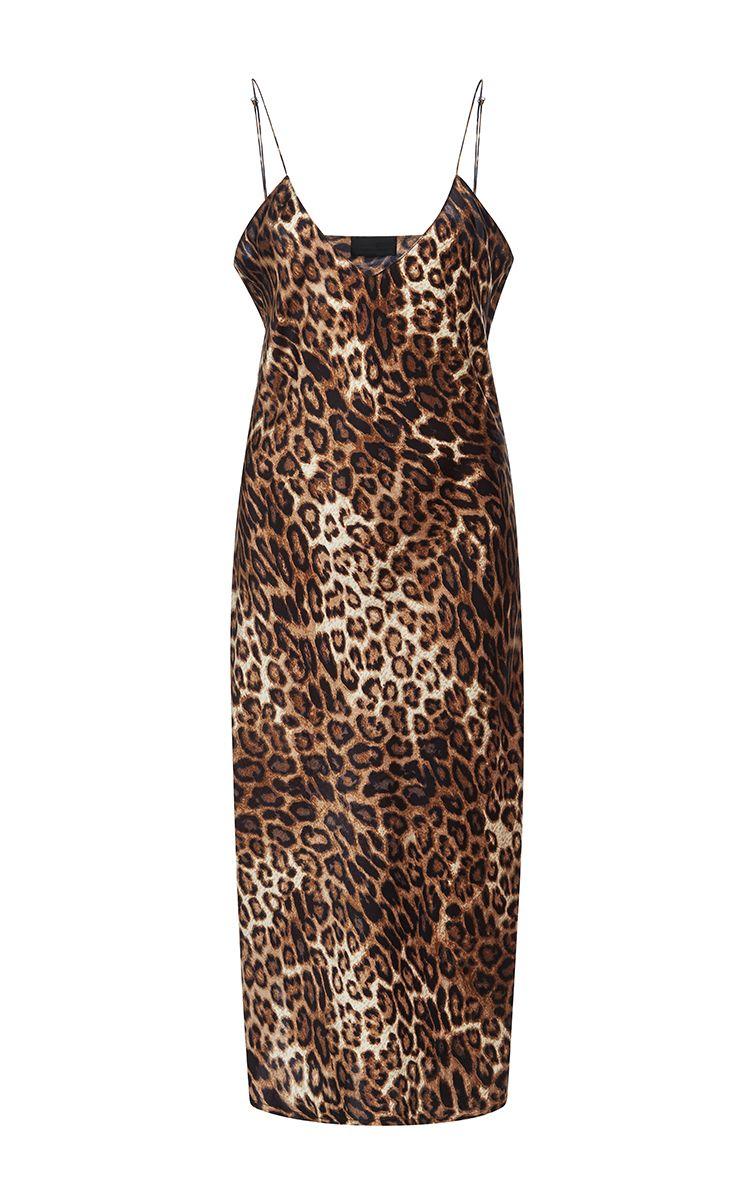 e35d44632e4c NILI LOTAN Short Leopard Cami Dress. #nililotan #cloth #dress | Nili ...