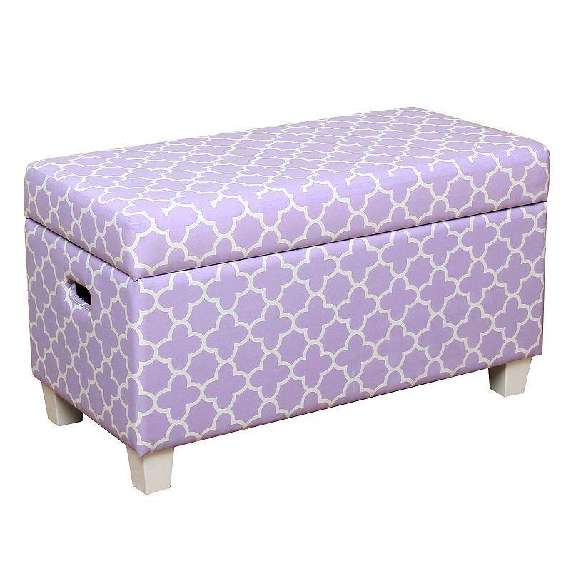 Kids Storage Bench Part - 50: Kids HomePop Storage Bench, Purple