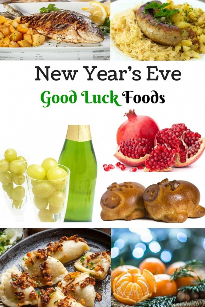 New Year's Eve Foods for Good Luck New years eve food