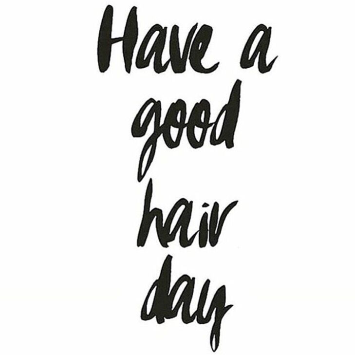 April Frills + Happy Friday! Wish someone a good (hair) day today! Tag your BFF below. # ...