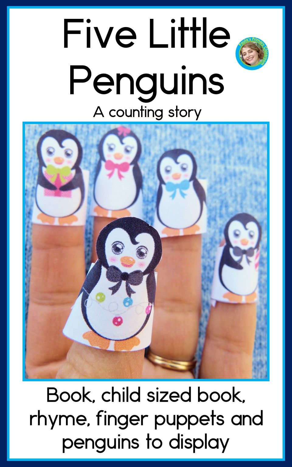 Five Little Penguins A Counting Story