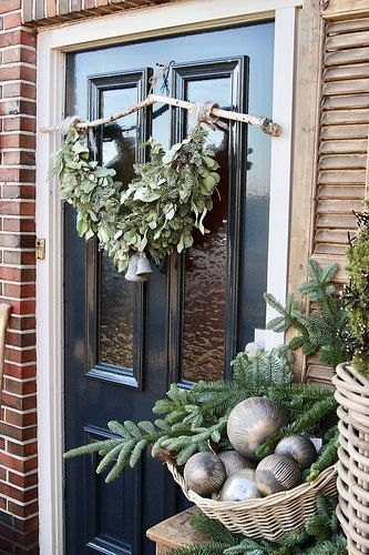 Stylen op De Wemelaer deel 12: kerst bij de voordeur - De Wemelaer