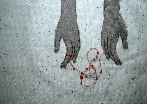 The red string of fate, is an East Asian belief originating from Chinese legend and is also used in Japanese legend.