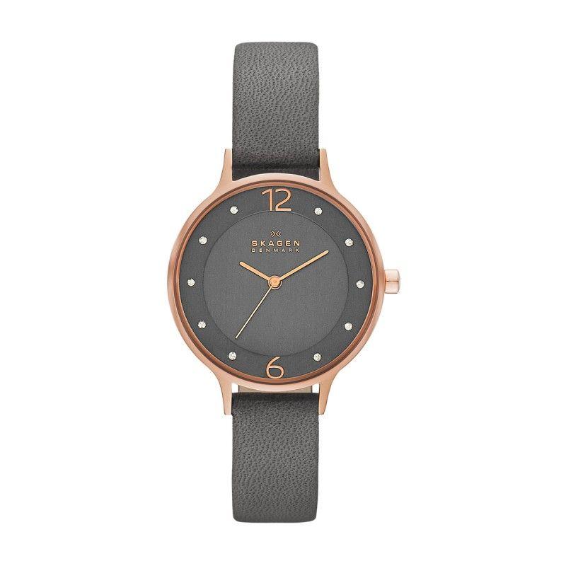 Skagen Skagen Armbanduhr - Ladies Anita Stainless Steel Watch Grey - in grau  - Armbanduhr für