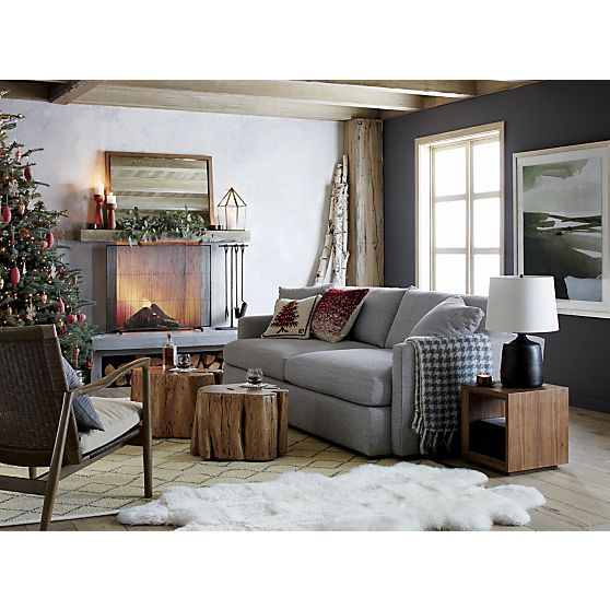Lounge Ii 93 Sofa Crate And Barrel Living Rooms Pinterest Crates Barrels And Cement