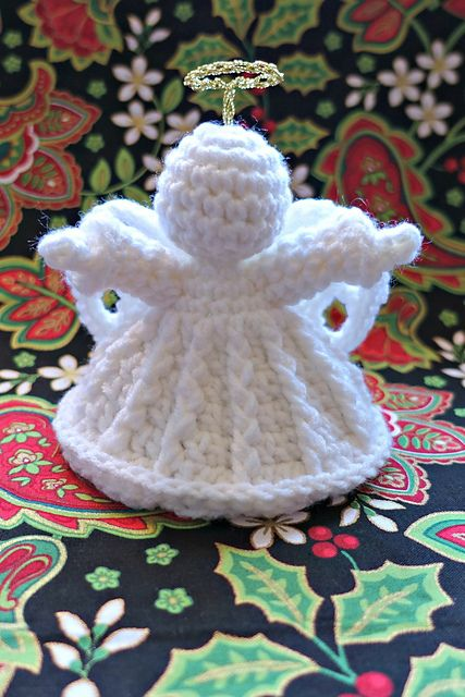 Free Pattern] This Loving Crochet Angel Ornament Makes A Unique And ...