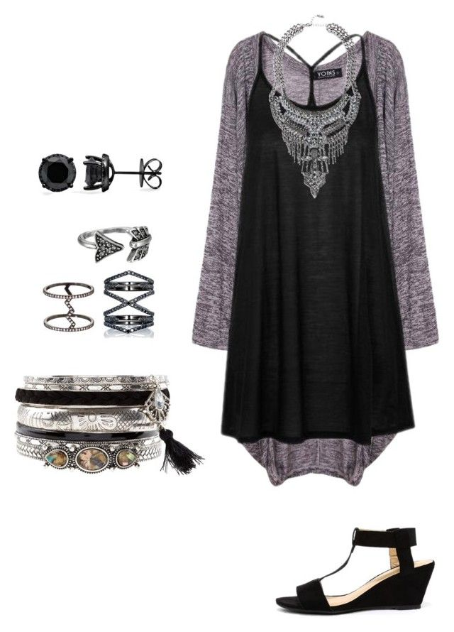 Untitled #16 by borth1227 on Polyvore featuring polyvore fashion style Topshop City Classified New Look Eva Fehren House of Harlow 1960 clothing
